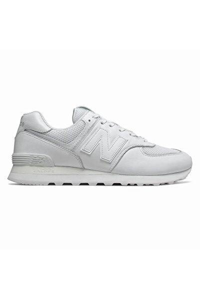 New Balance Unisex Beyaz Günlük Spor Ayakkabı Ml574nsf