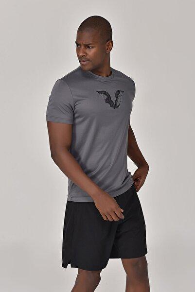 bilcee Antrasit Erkek T-Shirt GS-8843