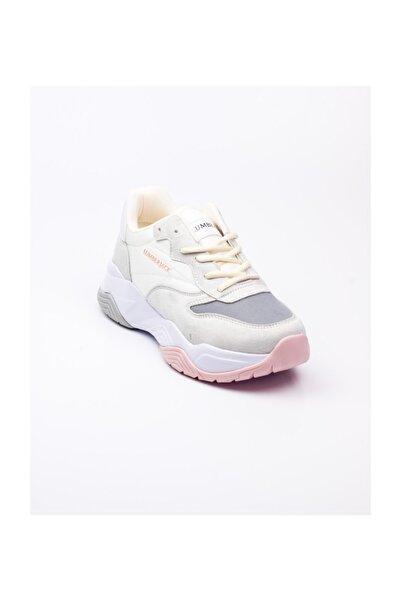 lumberjack 100500133 Gri Kadın Spor Ayakkabı