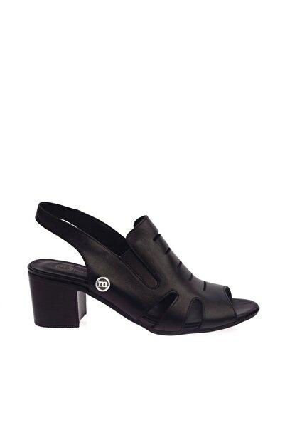 Mammamia Siyah Faber Kadın Sandalet D20YS-1045