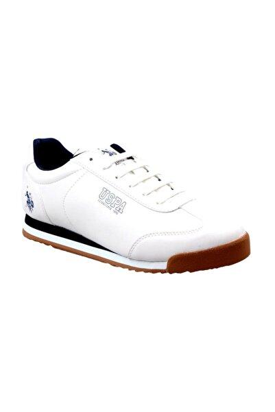 U.S. Polo Assn. Deep Beyaz Erkek Sneaker Ayakkabı 100333155