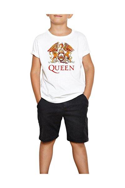 Zepplin Giyim Ultimate Best Of Queen Beyaz Çocuk Tişört