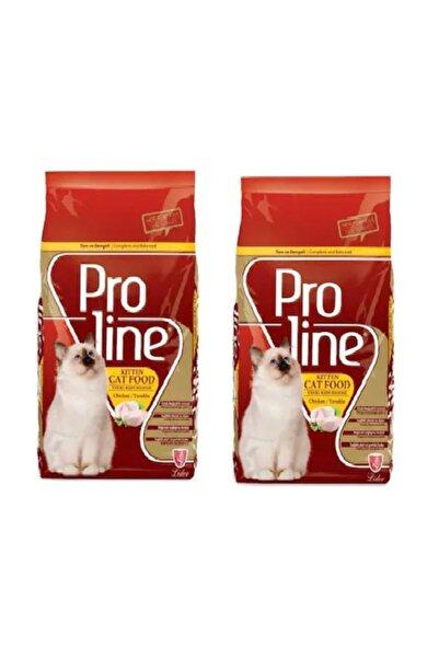 Pro Line Tavuklu Yavru Kedi Maması 1,5 Kg * 2 Adet