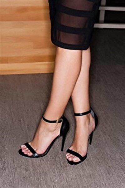 Siyah Kadın Topuklu Ayakkabı