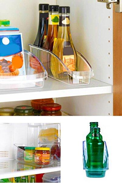 Helen's Home Buzdolabı Düzenleyici Şişe Düzenleyici Şeffaf