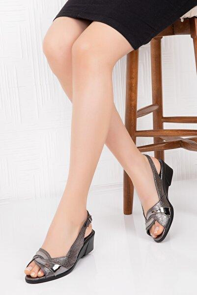 Gondol Kadın Içi Deri Sandalet