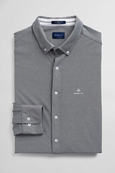 Erkek Gri Regular Fit Gömlek 3002560