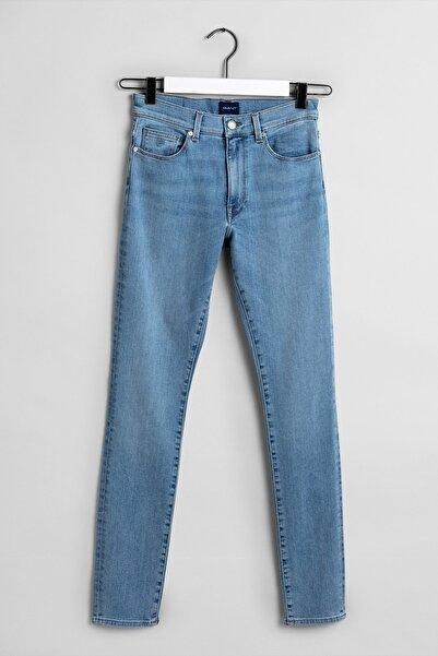Gant Kadın Mavi Jean Pantolon 4100034