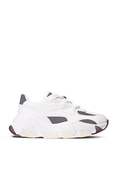 Deery Beyaz Sneaker Kadın Ayakkabı