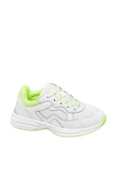 Esprit Unisex Çocuk Beyaz Sneaker
