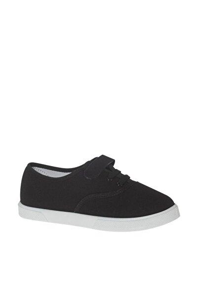 Siyah Bantlı Ayakkabı