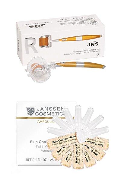Janssen Cosmetics Janssen Skin Contour Fluid & Dermaroller Cilt Bakım Paketi 7+1 Adet 4040943008752
