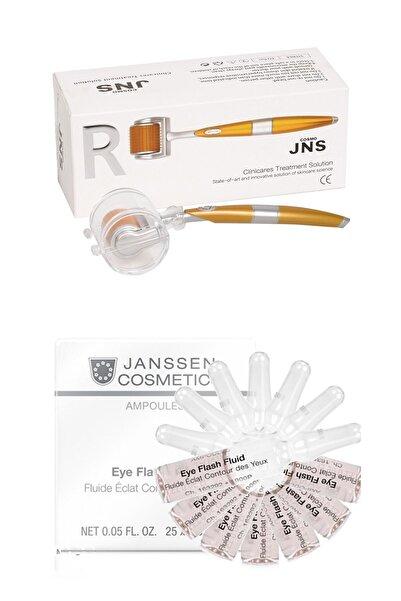 Janssen Cosmetics Janssen Eye Flash Fluid & Dermaroller Cilt Bakım Paketi 7+1 Adet