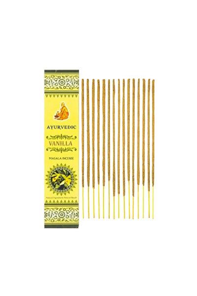 Ayurvedic Incense Ayurvedic Vanilla ( Vanilya Kokulu) Masala Organik Tütsü