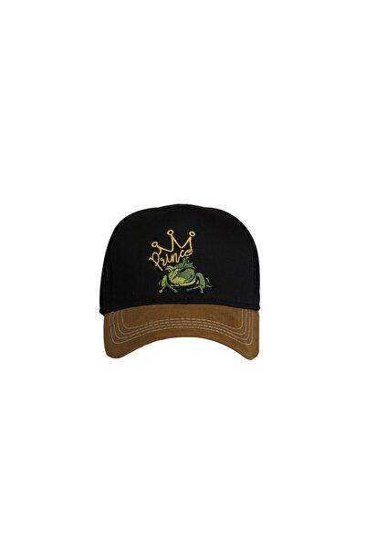 Bad Bear Siyah Erkek Şapka PRINCE CAP NIGHT