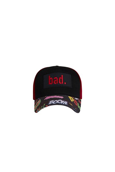 Bad Bear Siyah Erkek Şapka BOOM CAP NIGHT