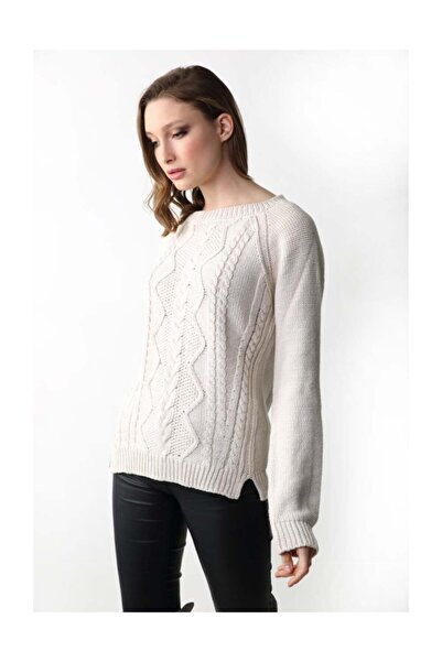 Sweater Concept Organik Pamuklu Kadın Triko 60505