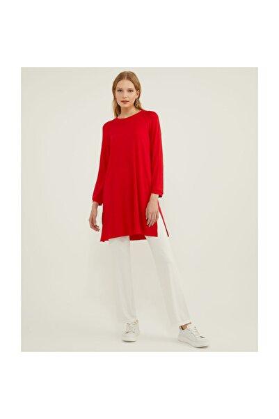 Aker Büyük Beden Kırmızı Tunik V159170120