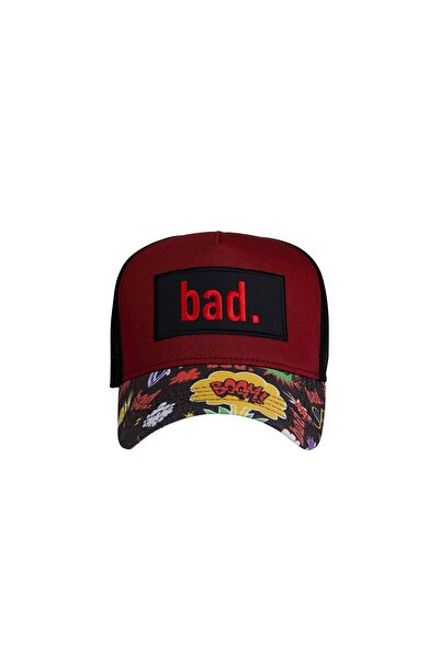 Bad Bear Erkek Şapka BOOM CAP MAROON
