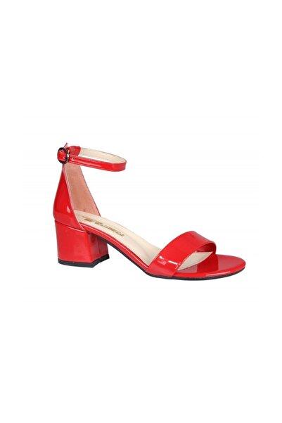 PUNTO Kadın Kırmızı Rugan Stiletto 462059