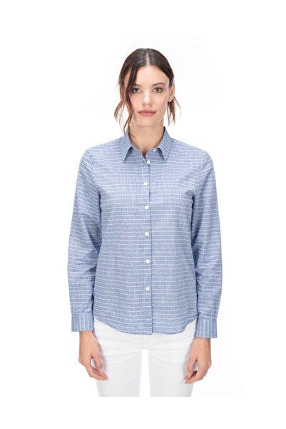 Galvanni Kadın Açık Mavi Gömlek - Marıgot
