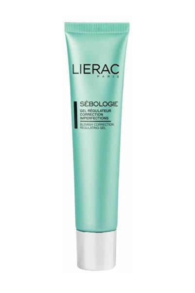 Lierac Akneli Ciltler için Düzenleyici Krem - Imperfections Correction Regulating Gel 40 ml 3508240001841