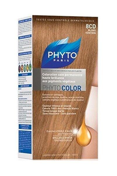 Phyto Bitkisel Saç Boyası - Phytocolor 8CD Kızıl Sarı 0618059109836