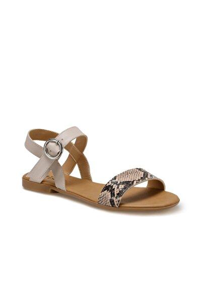 Miss F Ds20031 Bej Kadın Sandalet