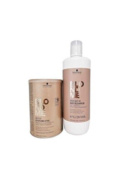 Blondme Premium Lift 9 Açıcı 450 G  Oksidan %6 20 Volume 1000 Ml