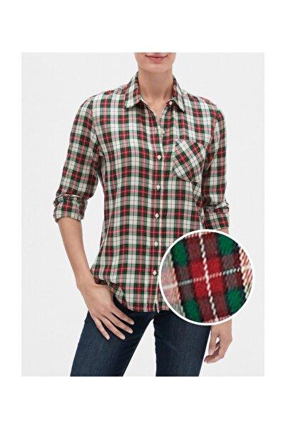 GAP Kadın Kareli Gömlek 527682