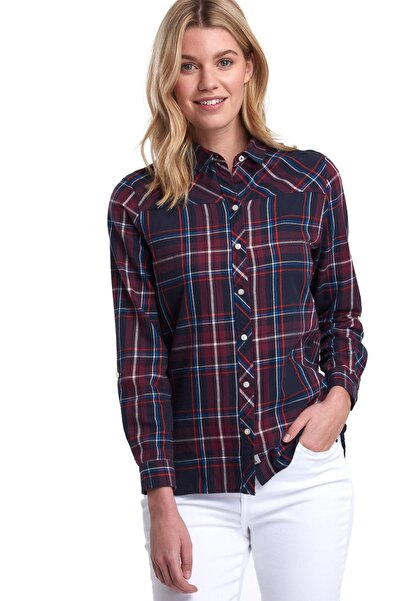 Barbour Paddle Shirt Navy