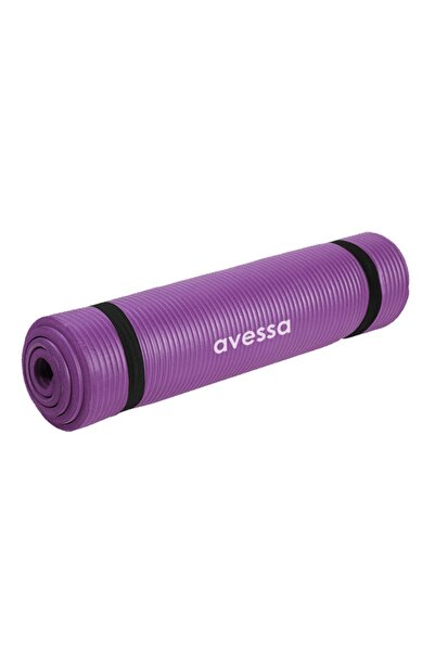 10 mm Yoga Mat & Pilates Minderi Mor