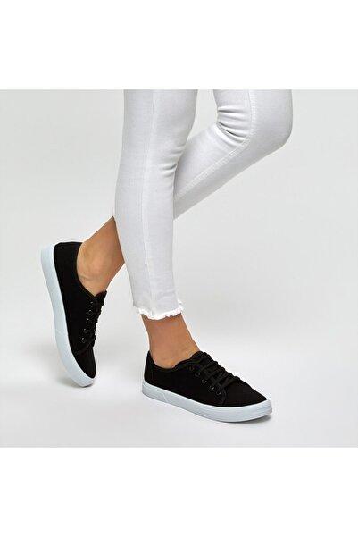 Polaris Siyah Kadın Sneaker