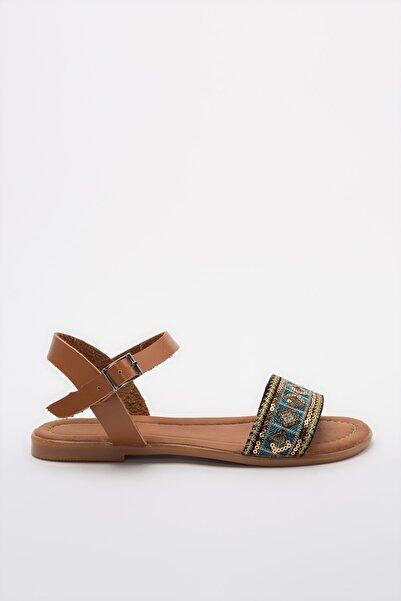 TRENDYOLMİLLA Altın Kadın Sandalet TAKSS20SD0018