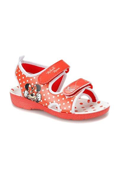 Mickey Mouse Kırmızı Kız  Çocuk Sandalet