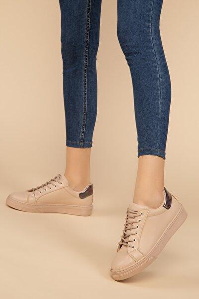 SOHO Ten-Platin Kadın Sneaker 14395