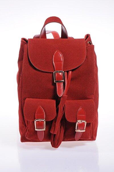 Sergio Giorgianni Kadın Kırmızı Sırt Çantası sg16052019-kırmızı