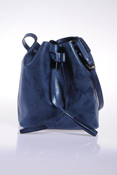 Sergio Giorgianni Kadın Mavi Omuz Çantası sg1867-mavi süetli