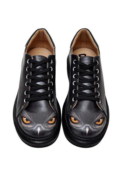 Dogo Owl / Tasarım Baskılı Vegan / Myra Kadin Ayakkabi
