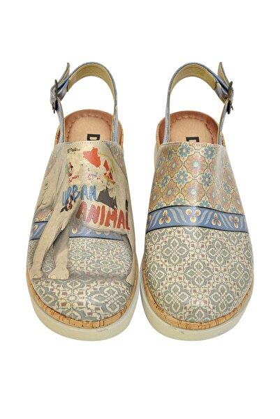 Dogo Çok Renkli Kadın Sandalet DGS017-AKT003