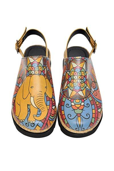 Dogo Çok Renkli Kadın Sandalet DGS017-AKT005