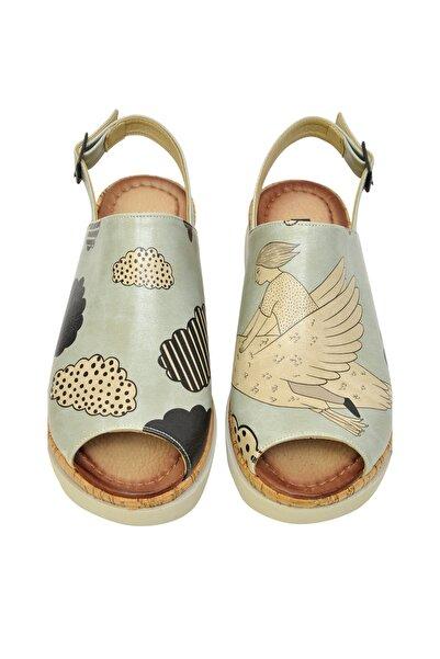 Dogo Çok Renkli Kadın Sandalet DGS017-GG001