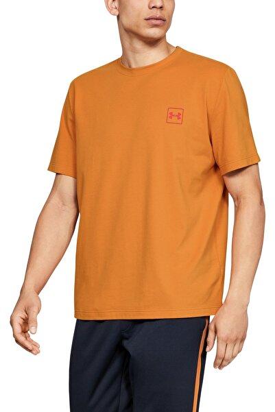 Under Armour Erkek Spor T-Shirt - ARENA Race Logo Graphic Drop 2 - 1346944-802