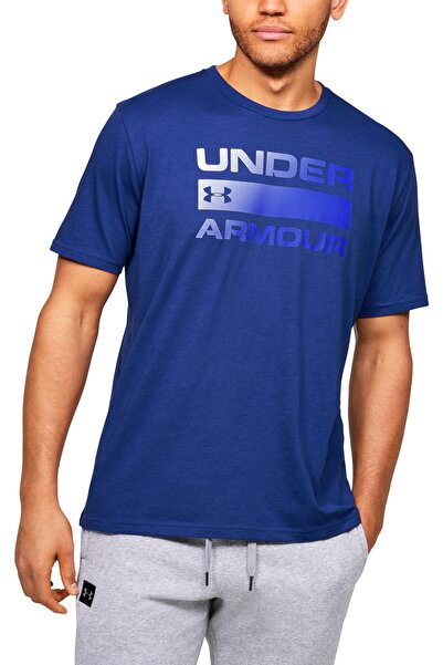 Erkek Spor T-Shirt - UA Team issue Wordmark Ss - 1329582-449