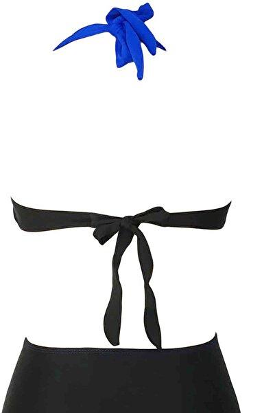 Xanded Mavi Siyah Bikini Üstü