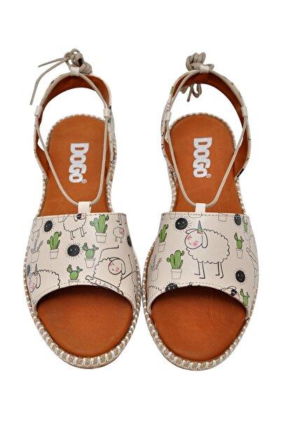 Dogo I Am The Real Unicorn Kadın Bağcıklı Sandalet dgs017-hzl005