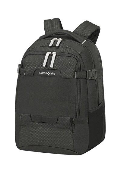 """Samsonite Siyah Unisex Sonora - Laptop Sırt Çantası - Körüklü 15.6"""" L 54734"""