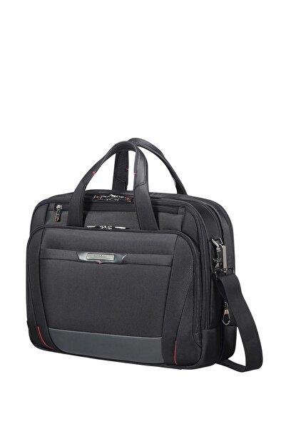 "Samsonite Siyah Unisex Pro-Dlx 5 - 15,6"" Körüklü Laptop Çantası 33026"