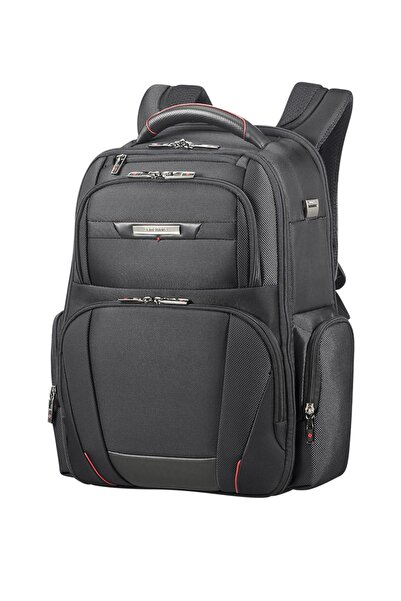 "Samsonite Siyah Unisex Pro-Dlx 5 - 15,6"" Laptop Sırt Çantası 33027"