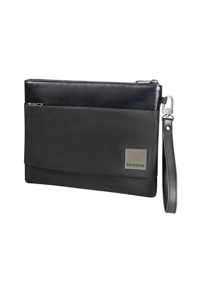 "Samsonite Siyah Unisex Hip-Square-Flat Tablet Clutch M 7.9"" 49073"